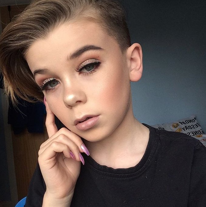 This 10-Year-Old Boy is a Makeup Prodigy