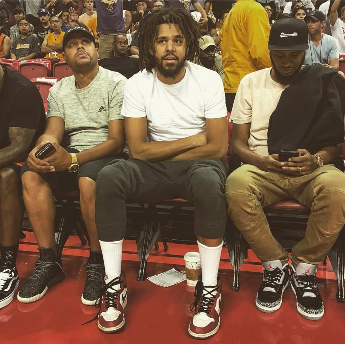 separation shoes 3e460 a5402 j cole in the air jordan 1 high og chicago watches dennis1smithjr at  nbasummerleague