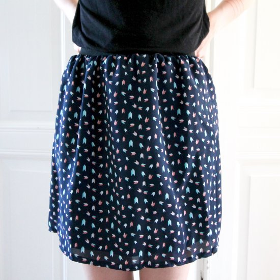 How to easily sew a skirt?