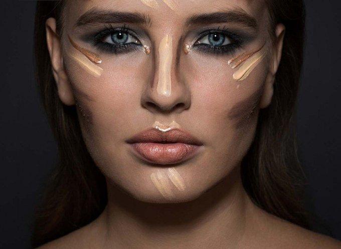 ¿Cuáles son los puntos para iluminar el rostro?