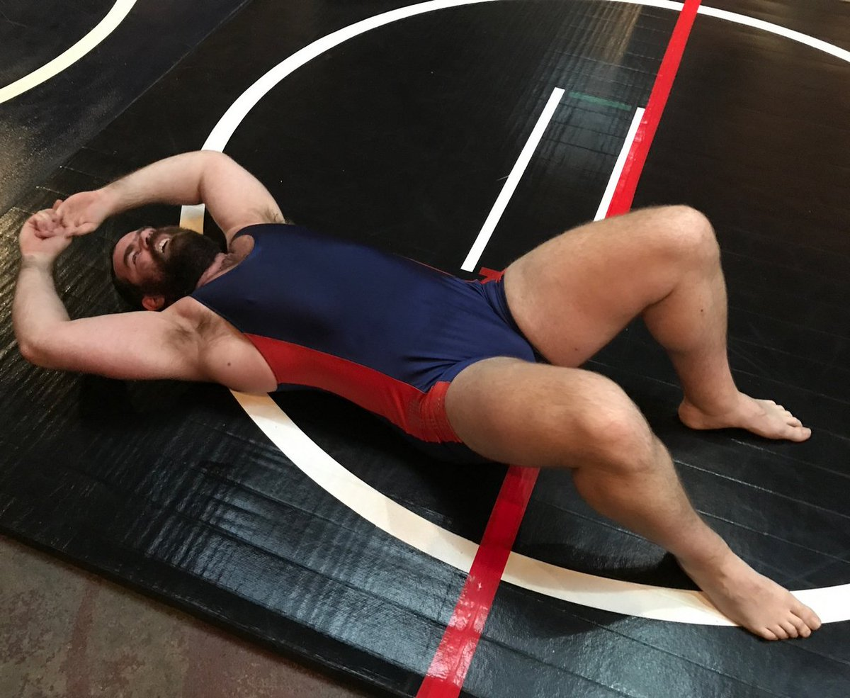 My CA bear bud from  http:// GLOBALFIGHT.com  &nbsp;   #bears #beards #bearded #wrestler #wrestling #stretching #gym #armpits #woof #strong #daddie #ca<br>http://pic.twitter.com/OyGMfCuqX6