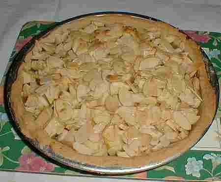 Apple and Almond Tart recipe