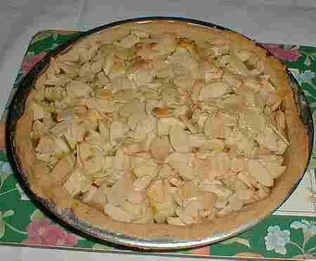 Apple and Almond Tart recipe