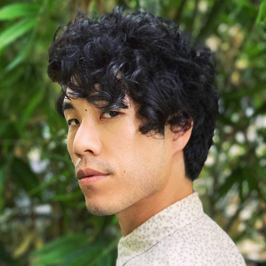 "Eugene Lee Yang on Twitter ""This is what a digital perm looks"