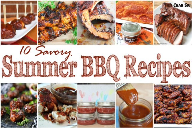10 Savory Summer BBQ Recipes + Merry Monday Link Party 158