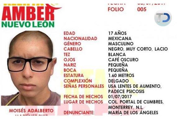 #DaRT⚠️  Se busca joven de 17 años que padece de psicosis | vía @MayteVillasana  ➡️ https://t.co/L4IMwWZPVi https://t.co/Su2bIRMkAC