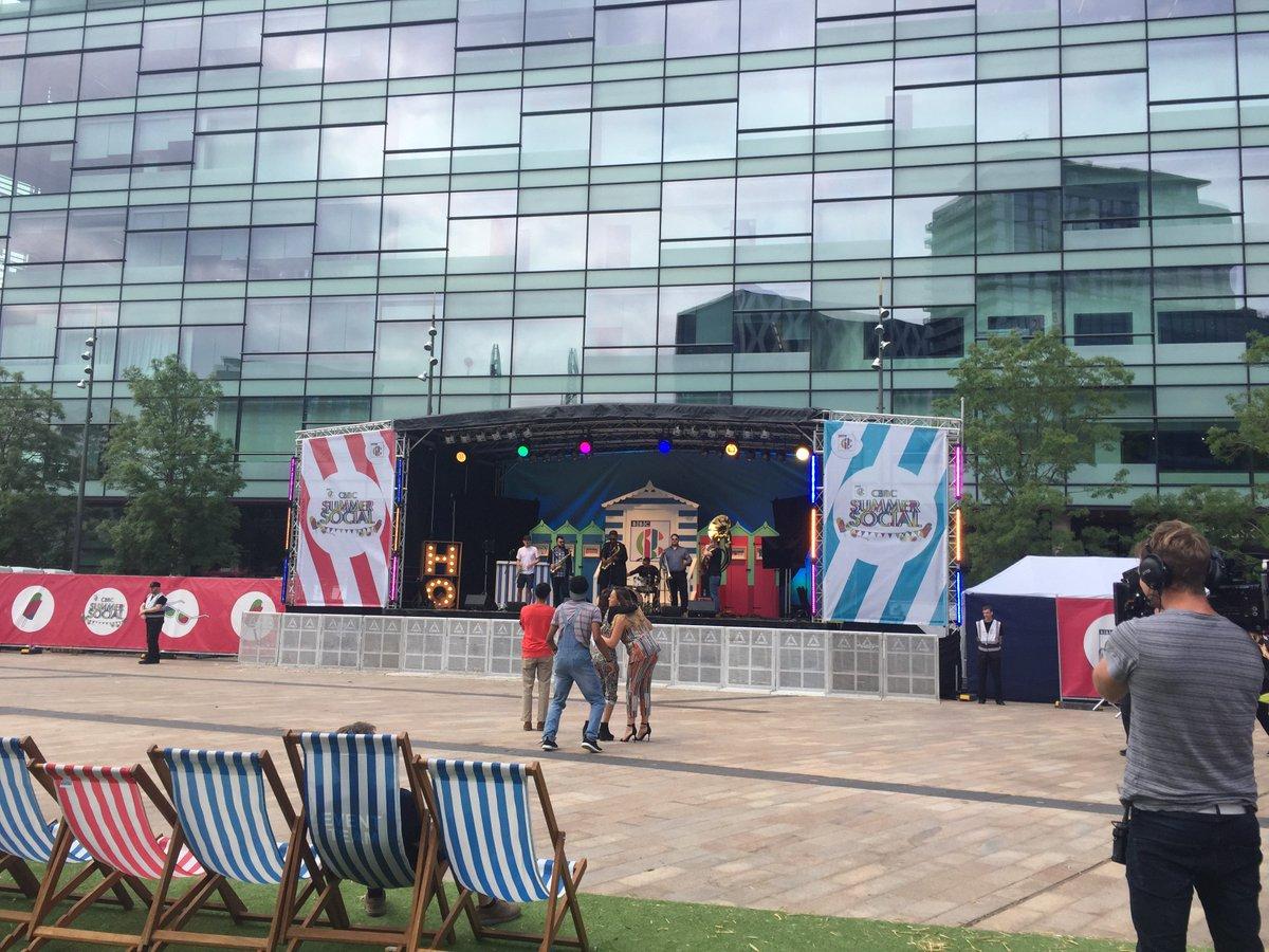 Day 2 @cbbc summer social! We're here al...