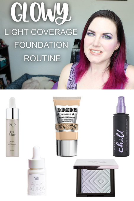 Glowing Light Coverage Foundation Routine for Problem Skin