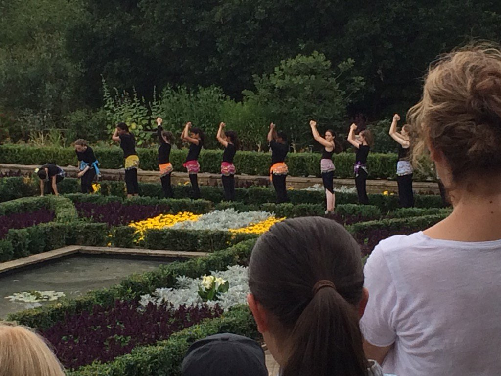 Fab backdrop for young Trinity Laban dancers in horniman sunken gardens refurbished thanks to #HLF & Parks for People https://t.co/2wUs5siTcw