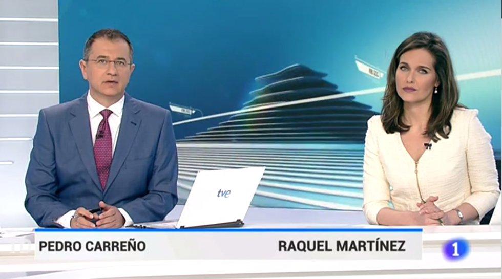 [VIDEO] ¡Trágame tierra! Periodista española comete error y