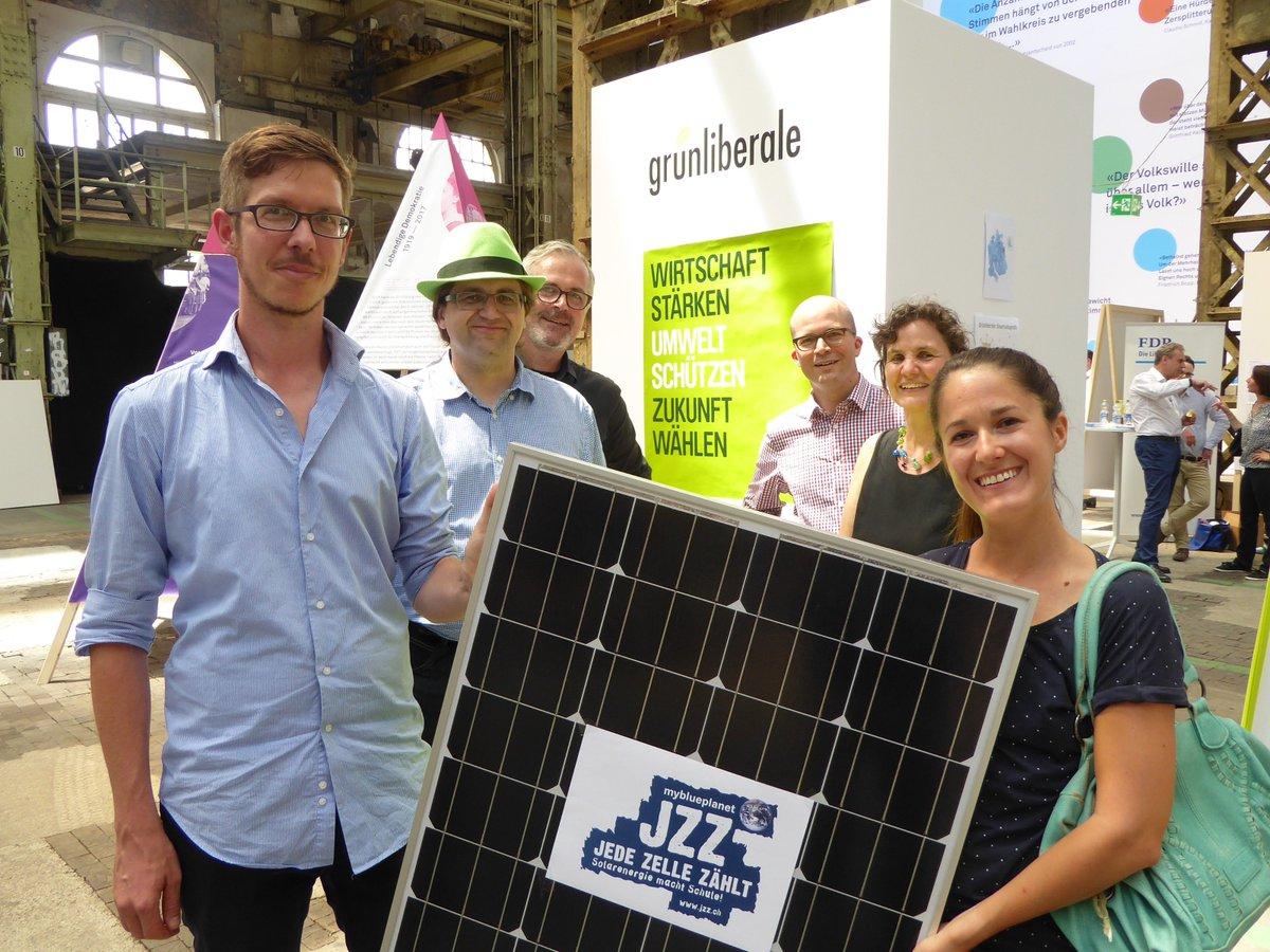 Die @glpzh steht hinter der Solarenergie.