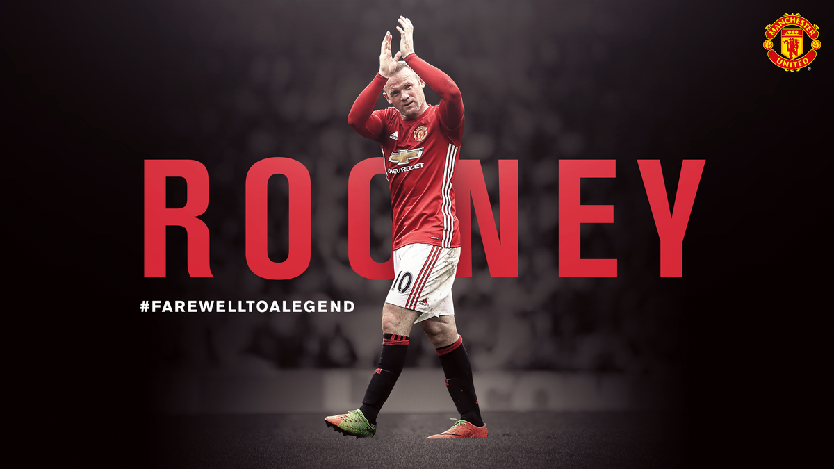 #FarewellToALegend  @WayneRooney is leaving #MUFC to return to Everton: https://t.co/QQrxKB2wo4  Thank you, Wayne, from all of us.