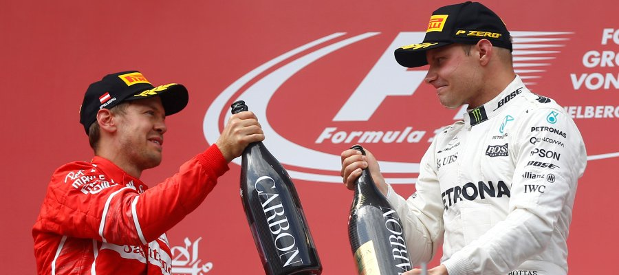 Formula 1: Bottas vince in Austria, Vettel Ferrari 2°. Video partenza