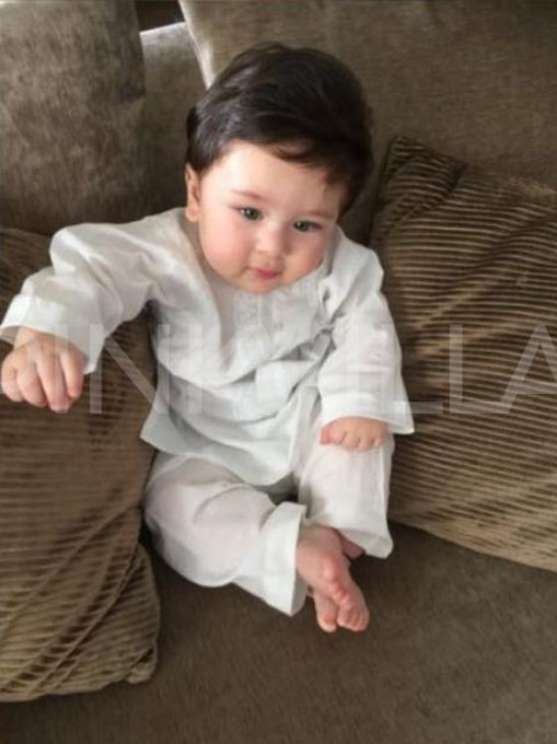 With the best features of both Saif and Kareena - little Taimur is undoubtedly the cutest starkid around! https://t.co/vOZMtW69Bh