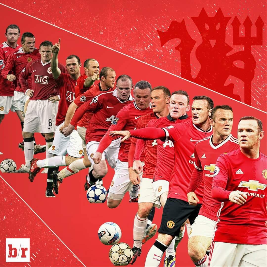 Years will pass but memory of your achievements will never fade. It's been one hell of a ride. It's been a pleasure #ThankYouRooney #Legend