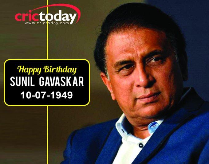 Happy Birthday Sunil Gavaskar