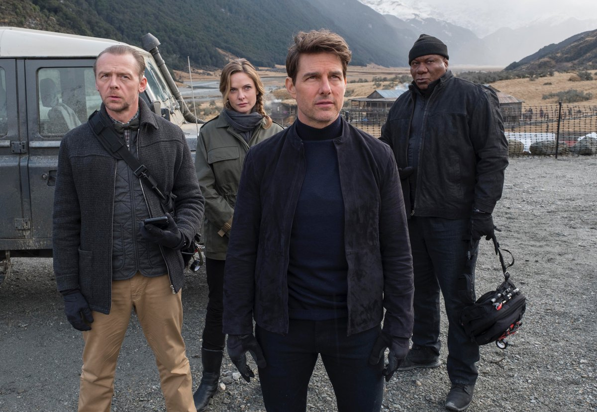 Thank you to the amazing people of New Zealand! I've had a great time filming the next Mission: Impossible here. https://t.co/GqSmAJpQ7q