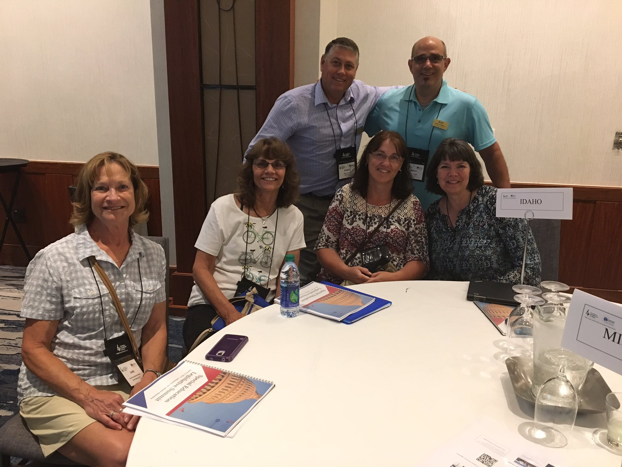 Idaho is excited to be here with our biggest team ever!  Hoping to make a difference.  #SELS2017 #4specialeducation https://t.co/CyNI4JGSF8