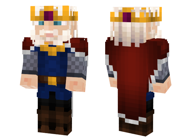 Razz On Twitter King And Beggar Preview Of New Skins For The - Skins para minecraft pe king