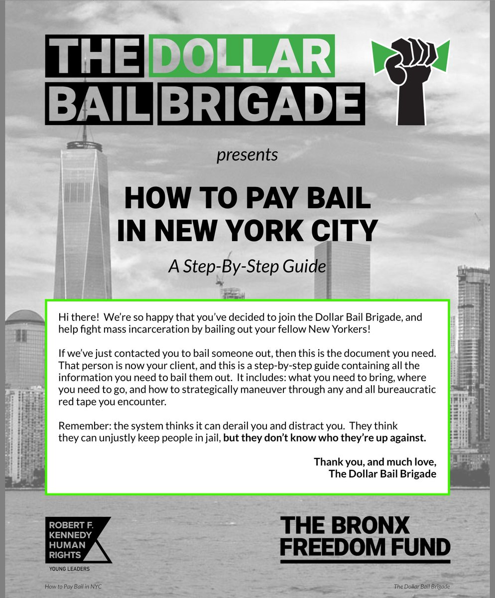 dollar bail brigade on twitter check out our dope new rh twitter com nyc.gov/training guide new york training guide