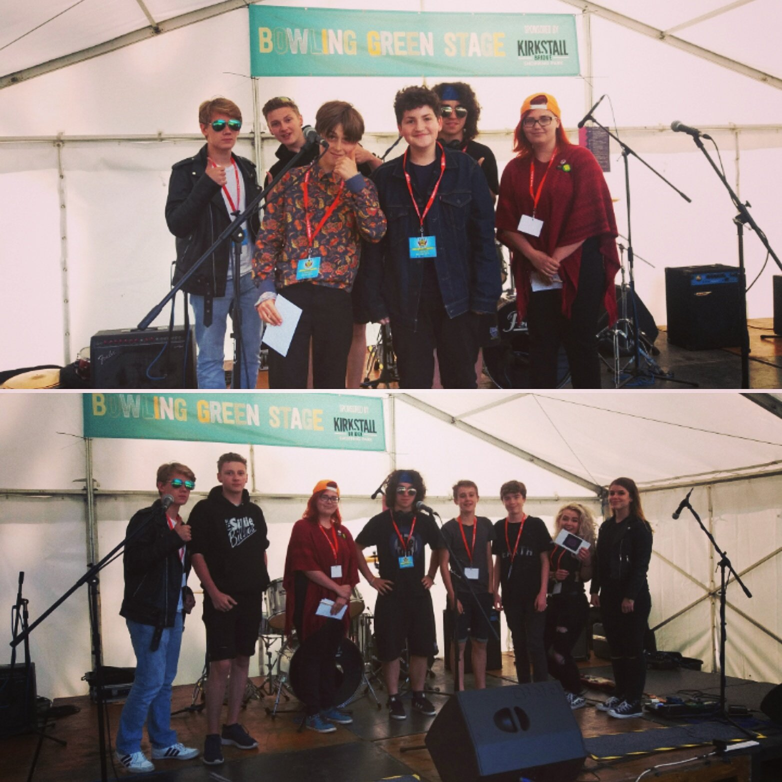 Amazing day as @LeedsMuseums took over the youth stage @KirkFest Winners  L'Objective @Neck of the woods. https://t.co/eskDPFfJnS