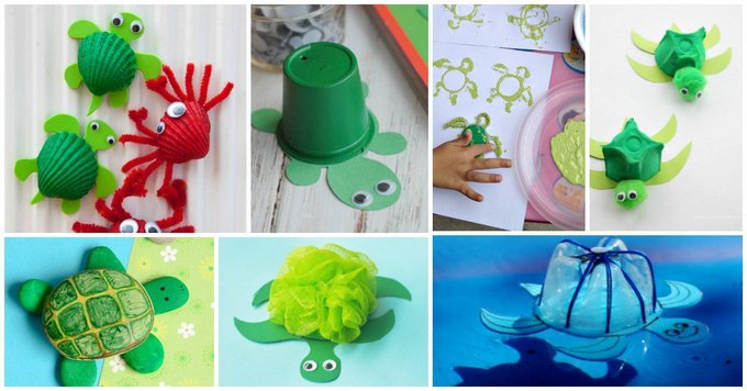 Cute and Fun Sea Turtle Crafts for Kids