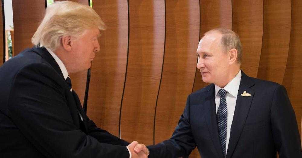 Donald Trump tweets out a recap of his meeting with Putin. https://