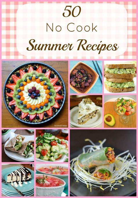 Summer Recipes: No Cook Meals