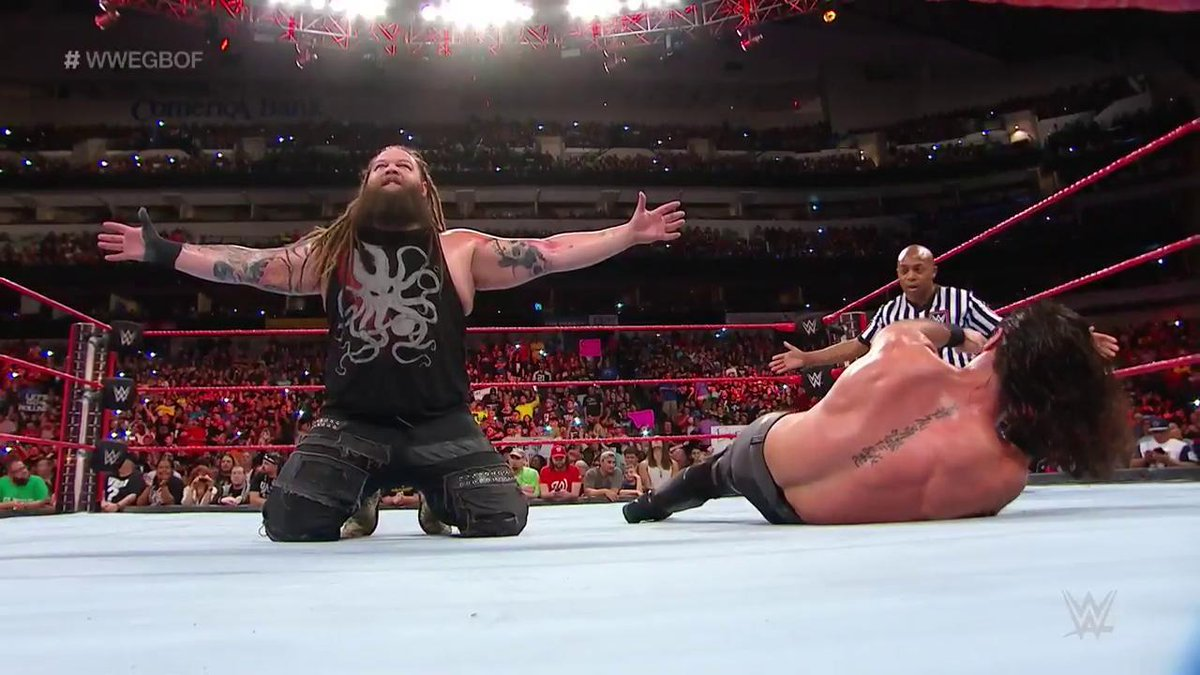 wwe great balls of fire 2017 results - DEVUtj5UQAALw4g - WWE Great Balls Of Fire 2017 Results: Brock Lesnar defend Samoa Joe, Braun Strowman Won Ambulance Match