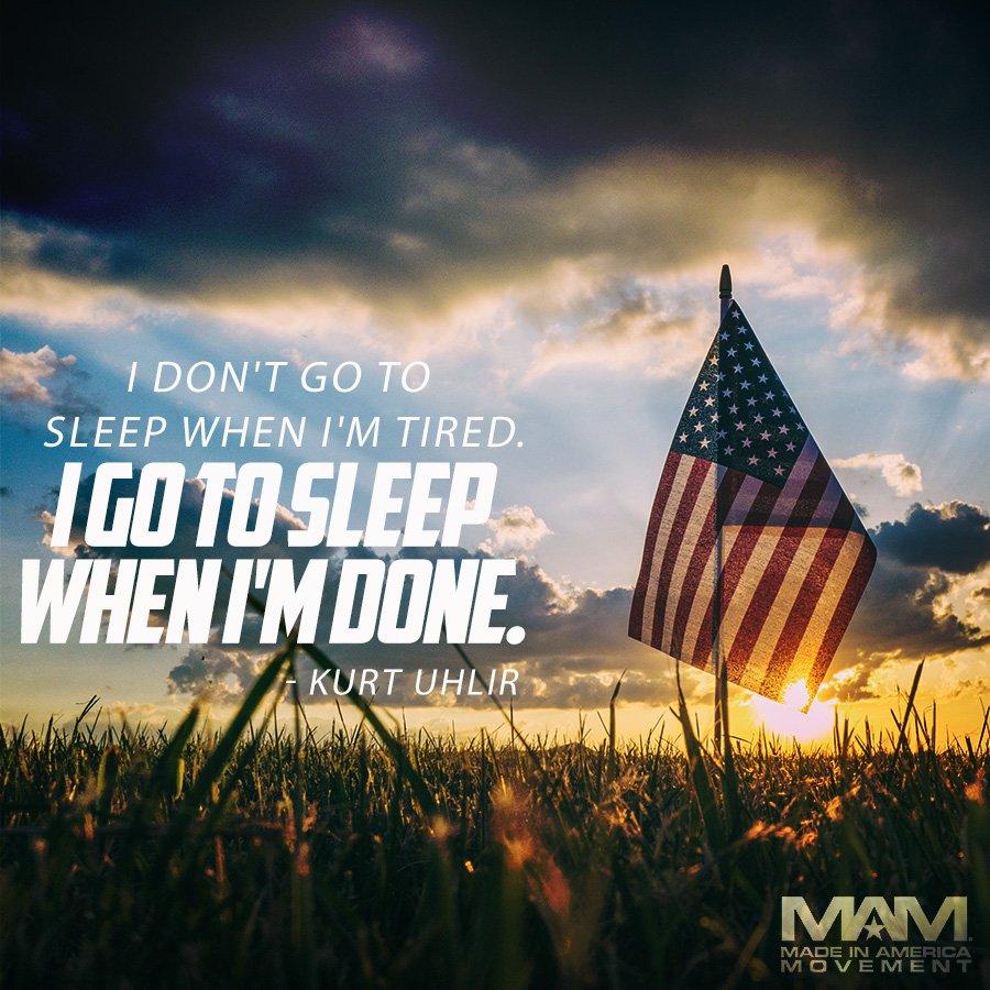 Kurt Uhlir On Twitter I Dont Go To Sleep When Im Tired I Go To