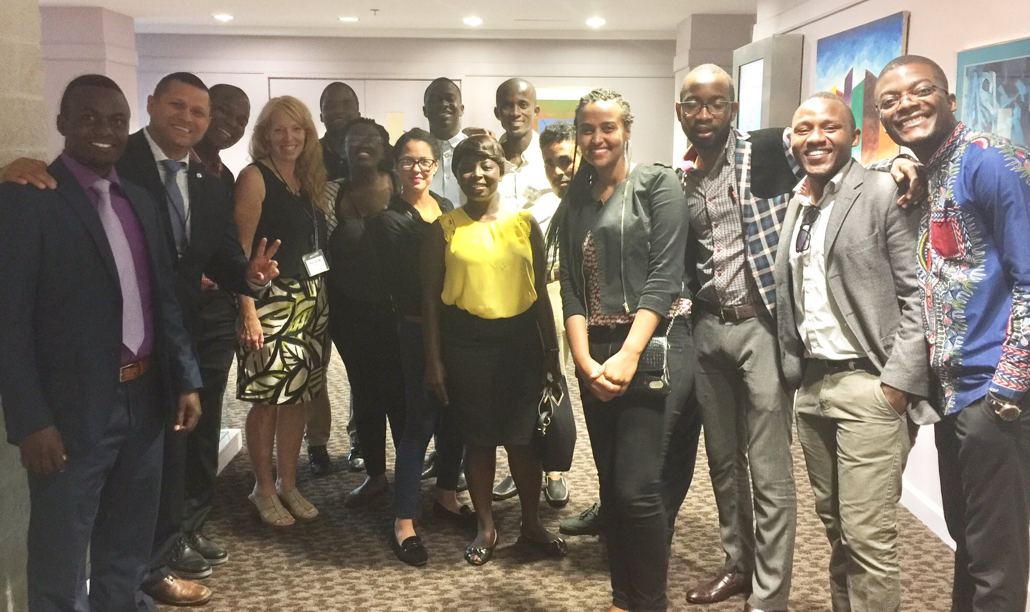 Excellent dinner & orientation tonight at #crispbootcamp! Proud to be in the presence of many #MacroSW & bonus the Mandela Fellows! #policy https://t.co/E9zevejDpm