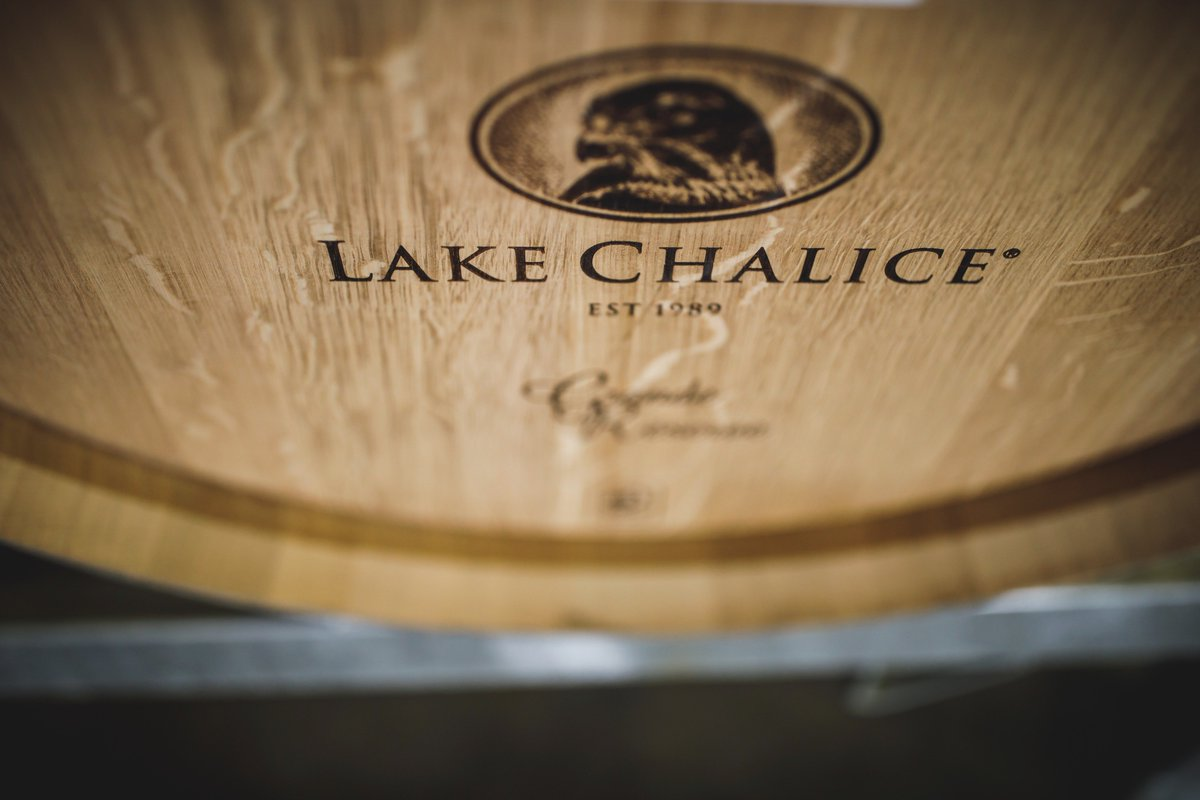 Shhh, she&#39;s resting Lake Chalice &#39;The Raptor&#39; Chardonnay, 2017. Two months into an 11 month slumber. #LakeChaliceWines #Chardonnay #NZWines <br>http://pic.twitter.com/1L1EPN70Q5