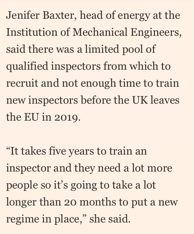 Skills crisis for UK nuclear regulator as ageing workforce braces for extra responsibilities after Brexit https://t.co/hp5y1ThoWP #euratom https://t.co/732w7phhQC