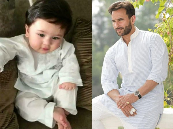 The two most beloved men in Kareena's life can surely give lessons when it comes to style! #SaifAliKhan #TaimurAliKhan #LikeFatherLikeSon https://t.co/1H2aj60dHZ