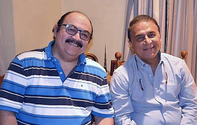 Wishing my friend Sunil Gavaskar Happy Birthday an awesome year ahead with Sunny Days