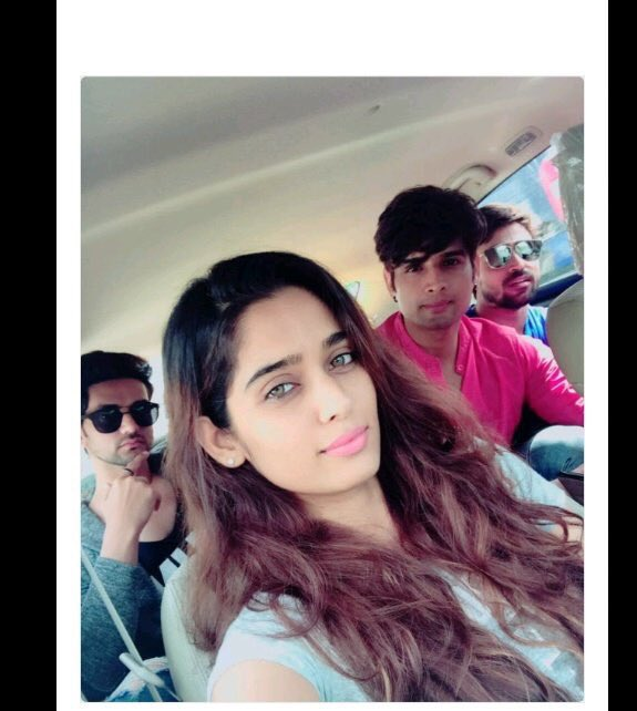 #Nesha on fire Beautiful Mesmerising eyes @thenehasaxena Ahh that look my #Prince @