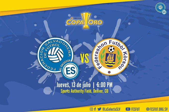 Copa Oro 2017: El Salvador vs Curazao. Preparacion del juego. DEWTZc3UwAAlgDu