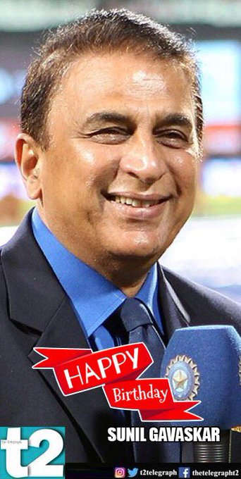 He made batting look elegant and effortless. Happy birthday Sunil Gavaskar