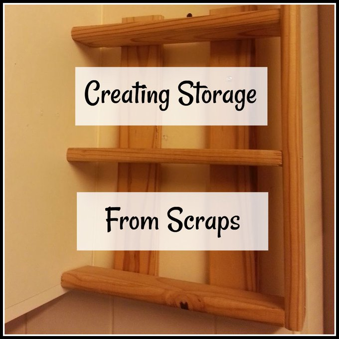 Creating Storage from Scraps. Guest Post