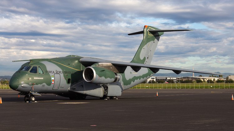 Image result for Embraer KC-390 arrives in the United States for a series of flight trials