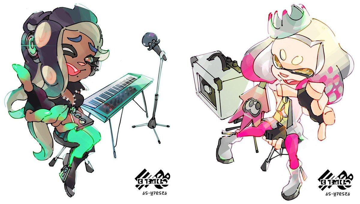Jtyaku On Twitter Quot Official Splatoon 2 Pearl And Marina