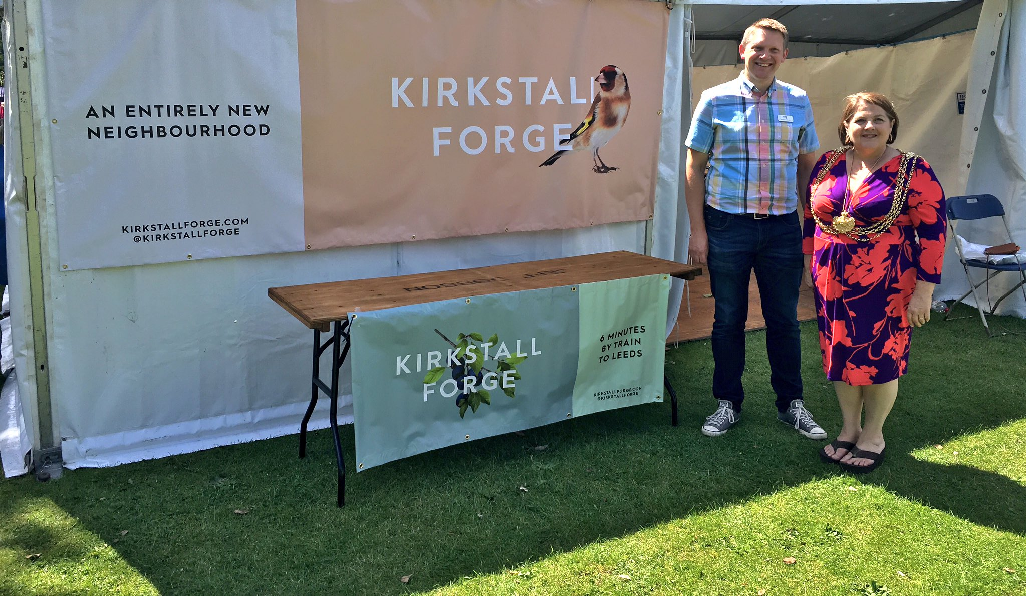 We had a lovely Saturday in the sunshine at @KirkFest with @CllrJaneDowson #KirkstallForge https://t.co/Zcq5bqMVX3