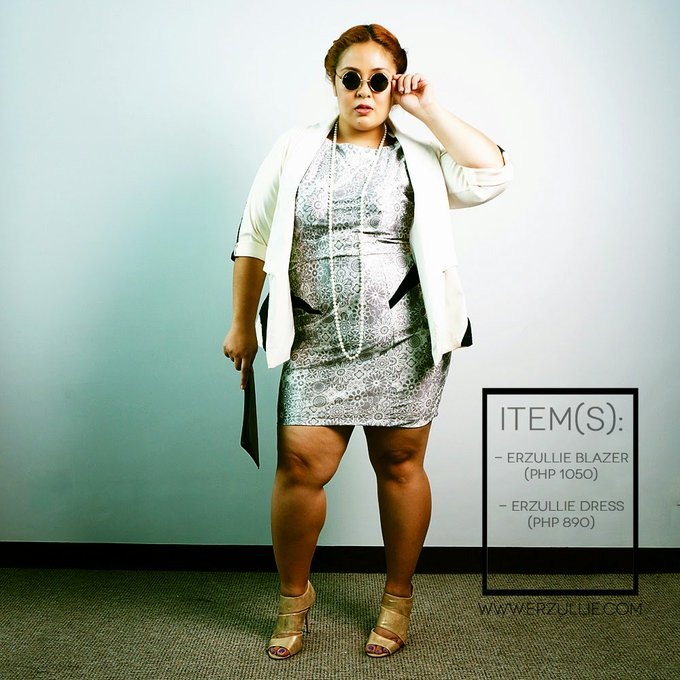 "PLUS SIZE FASHION: #OOTD ""ICE QUEEN"""