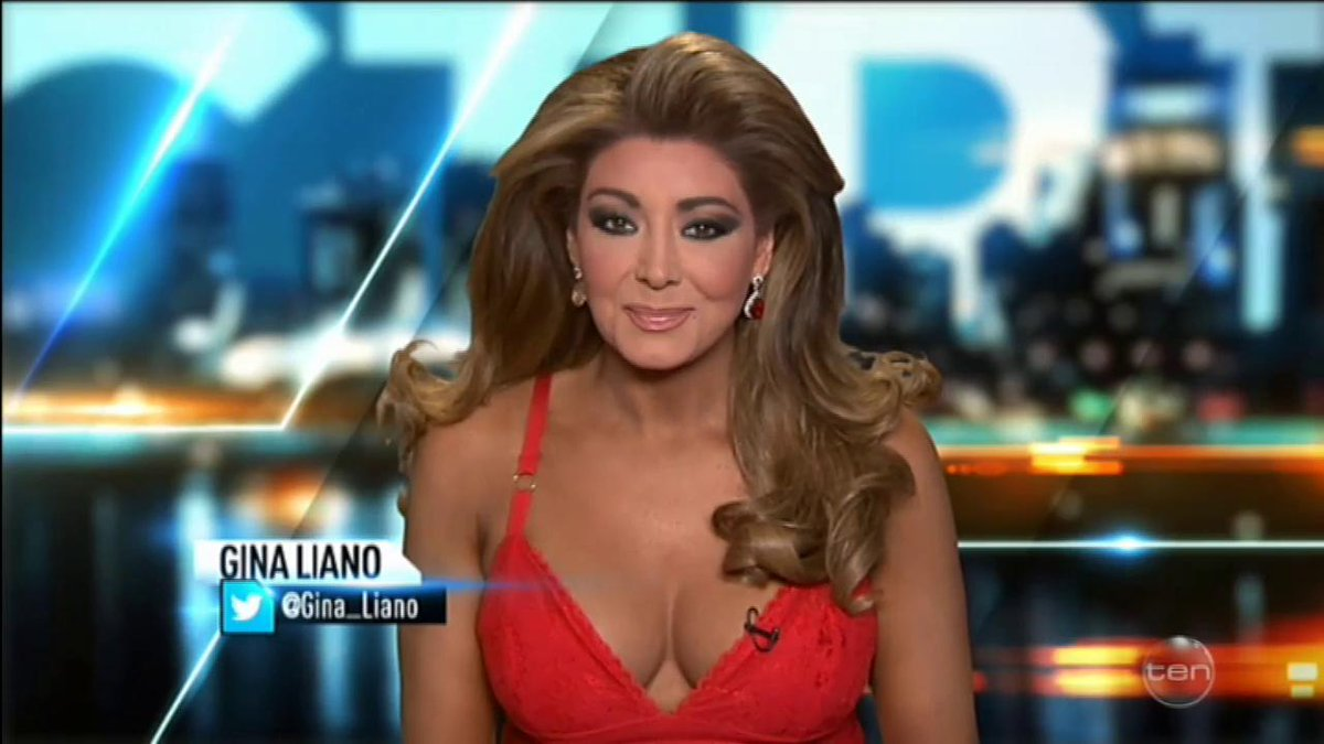 Topless Cleavage Gina Liano naked photo 2017