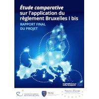 Application du Règlement Bruxelles I bis, l'étude comparative des huissiers de Justice et des notaires européens. https://t.co/lvoAXht9YU