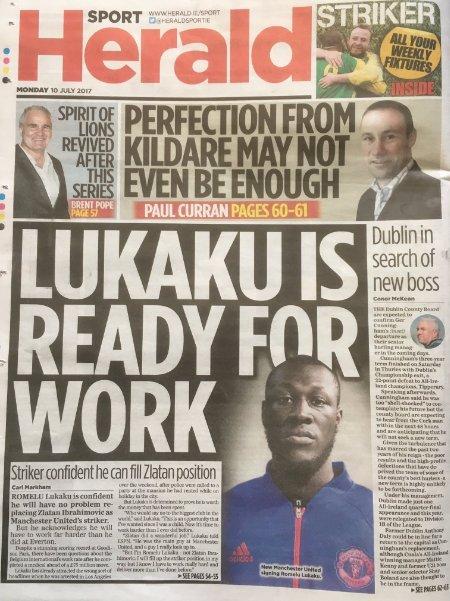 Quand un journal anglais confond Lukaku avec un rappeur...