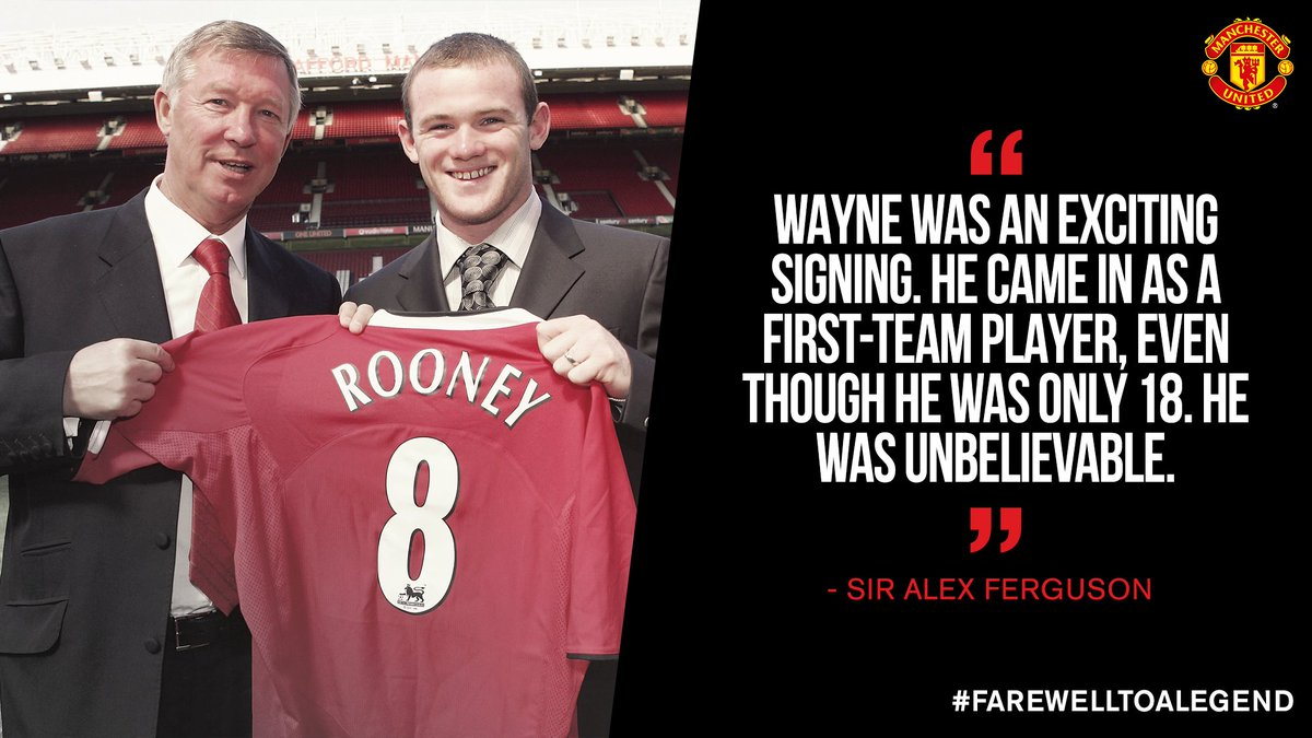 We agree, Sir Alex - and our former manager has picked out three of his favourite @WayneRooneygoals for #MUFC! https://t.co/YvdQCkNEJR