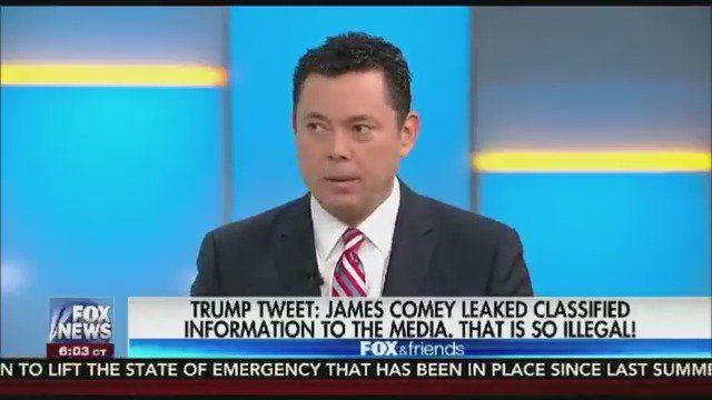 .@jasoninthehouse: Comey went silent when I asked him about his memos, which raised a lot of eyebrows.