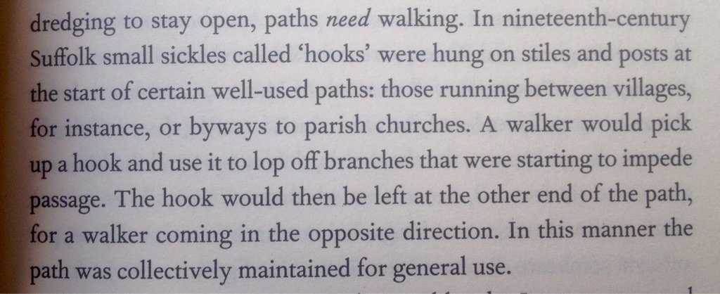 Let's reinstate this great 'old' idea from @RobGMacfarlane 's The Old Ways. A fascinating read. https://t.co/UdyjBeIl3f