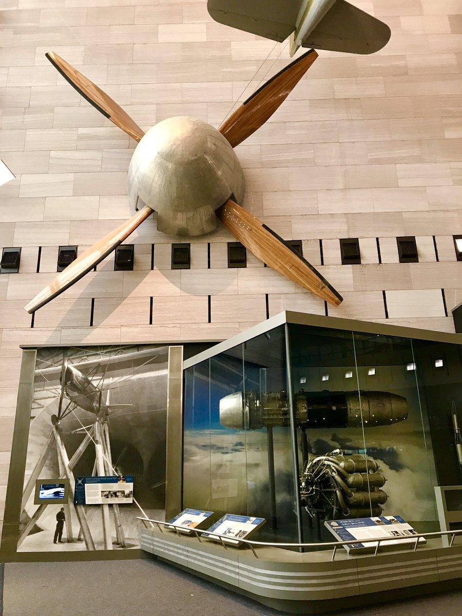 Plz follow today's #NASASocial at the @airandspace about the #nasalangley100 centennial!